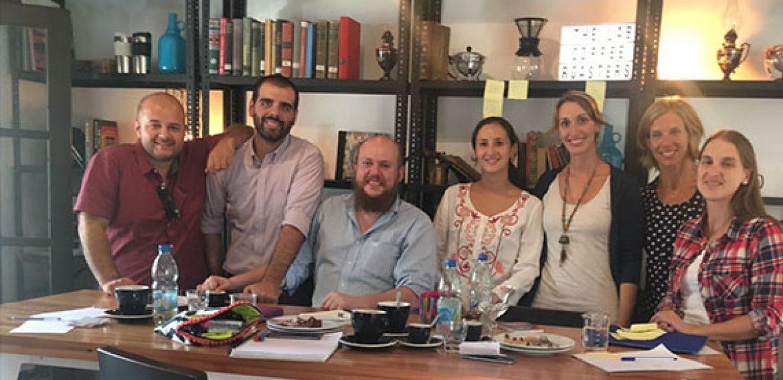 Se realizó primera reunión de docentes del Programa de Inglés de UTEC para formación en learning labs con Heather Riley