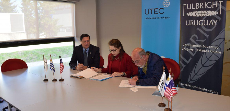Fulbright y UTEC firmaron acuerdo marco de cooperación