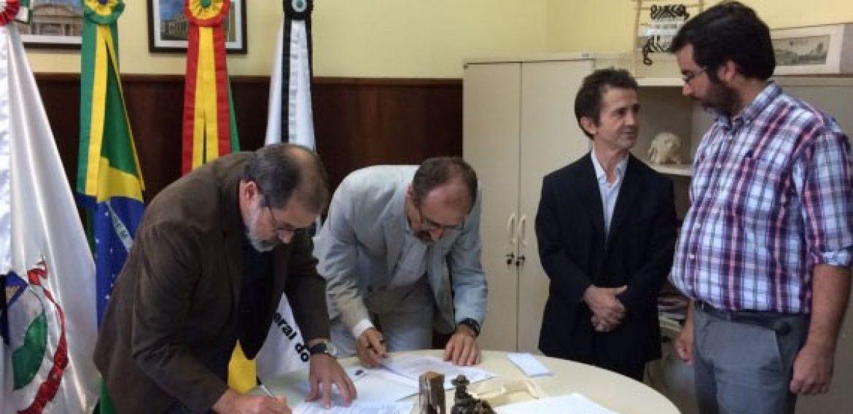 UTEC firmó acuerdo marco con Unipampa que permitirá la concreción de una agenda de intercambios, perfeccionamiento docente y acceso a posgrados