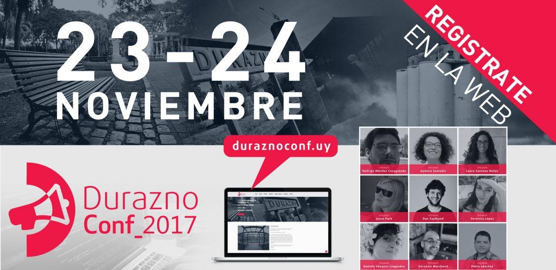 DuraznoConf: el evento sobre programación desde el interior del país para el mundo