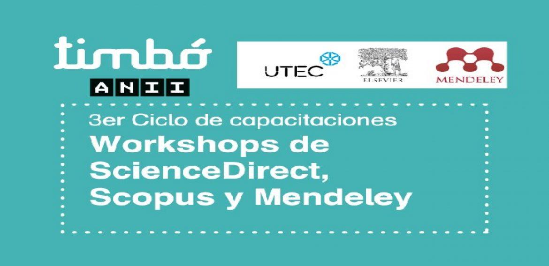 """Workshops de ScienceDirect, Scopus y Mendeley"""