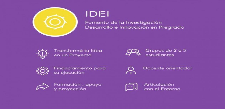 Convocatoria IDEI 2017