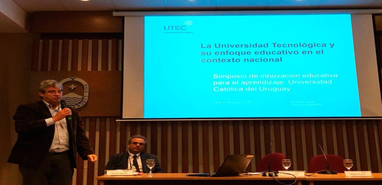 Presentación del modelo educativo de UTEC