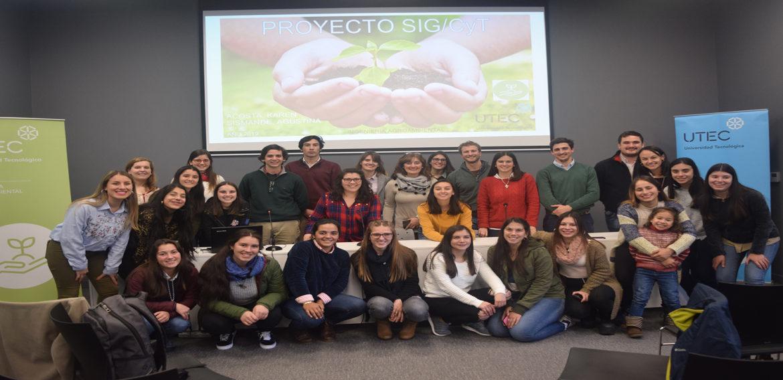 Los primeros pasos de los estudiantes de Ingeniería Agroambiental