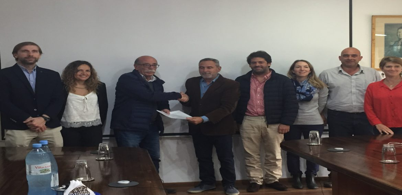UTEC y CARU firmaron convenio marco de cooperación