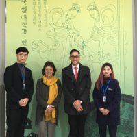 UTEC firma acuerdos de cooperación con Soongsil University en Corea