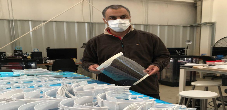 Mil máscaras protectoras están siendo elaboradas en el ITR Norte