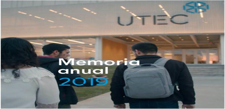 Memoria Anual 2019 ya está disponible en la web institucional de UTEC