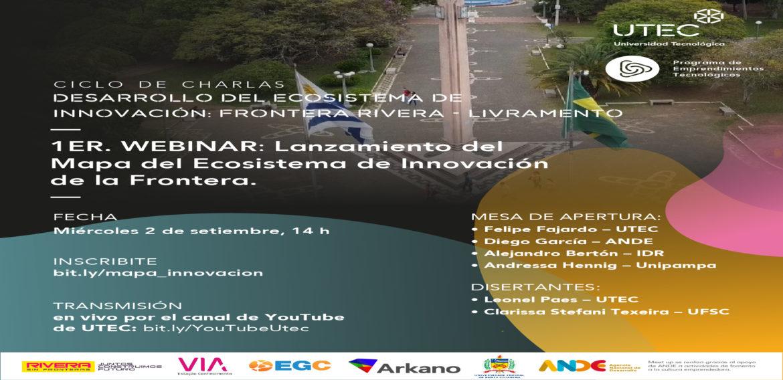 Se dará a conocer el mapa del ecosistema de innovación de la frontera Rivera-Livramento