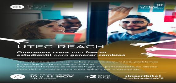UTEC Reach: cómo generar impacto y que estudiantes sean protagonistas del cambio