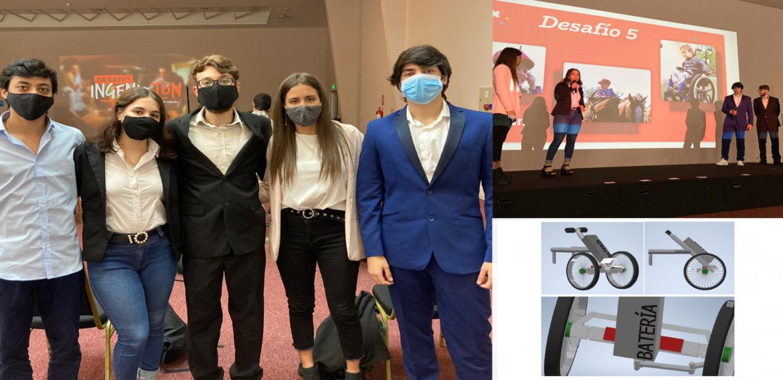 Estudiantes de UTEC encontraron soluciones para niños de Teletón y las llevarán a la práctica