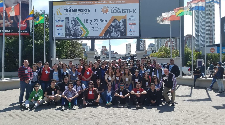 Estudiantes de ILOG de los ITR Norte y Suroeste de gira
