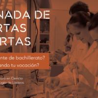 Jornadas de puertas abiertas en la Licenciatura en Ciencia y Tecnología de Lácteos