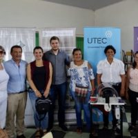 Fueron entregadas a Flordelana las ruecas construidas por TMECI con financiación de la embajada de Estados Unidos