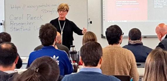 Se realizó jornada de capacitación para docentes de UTEC en el ITR Centro-Sur
