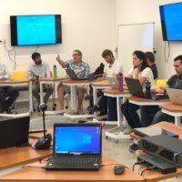 Se realizó el primer encuentro de Robótica, Control y Automatización del Bioma Pampa