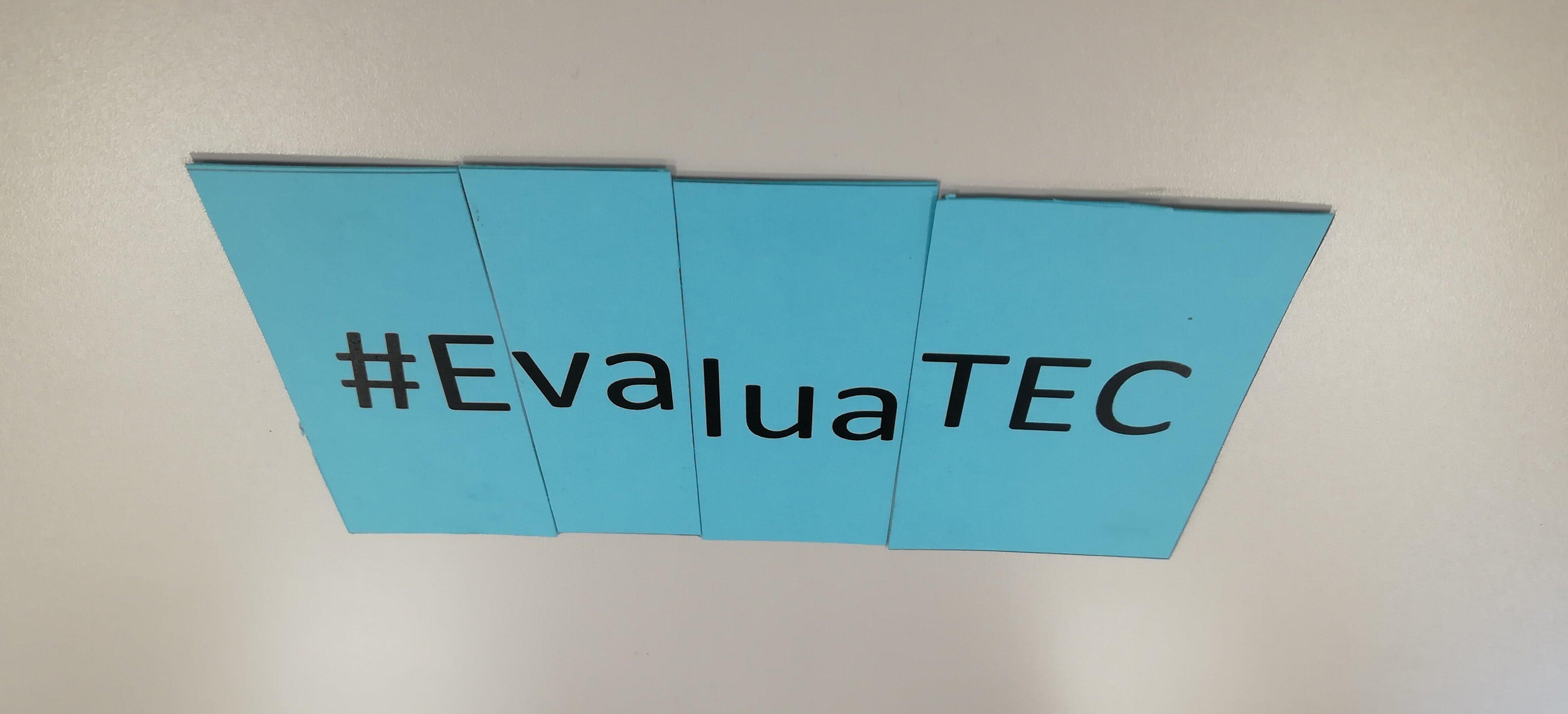 Reconocimiento por la labor de formación en evaluación del Programa de Evaluación y Estadística de la UTEC